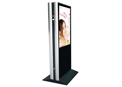 Vertical outdoor advertising machine